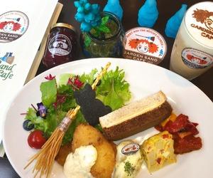anime, feast, and food image