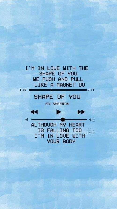 ed sheeran, music, and shape of you image