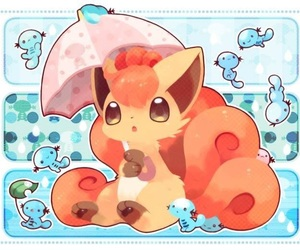 pokemon, vulpix, and cute image