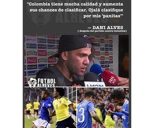dani alves, juan guillermo cuadrado, and selección colombiano image