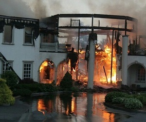 fire, house, and rp image