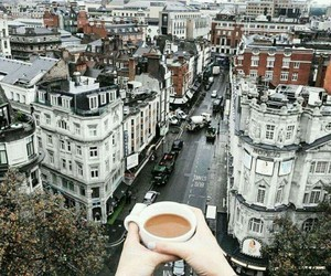 coffee, city, and travel image
