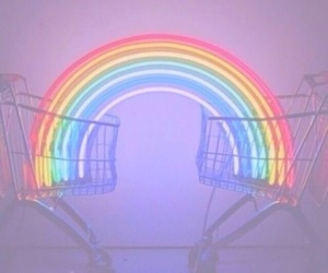 rainbow, light, and colors image