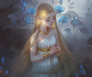 breath of the wild and art image