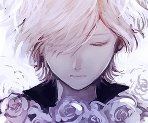 anime, diabolik lovers, and flowers image