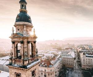 travel, beautiful, and budapest image