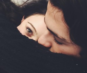 cold, cuddle, and green eyes image