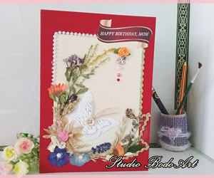 etsy, blank cards, and gift for mum image