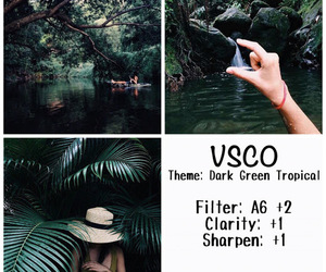 filter, green, and vsco image