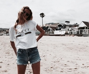 beach and gucci image