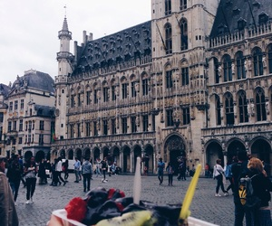 belgium, bruxelles, and old town image