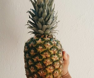 pineapple, summer, and FRUiTS image