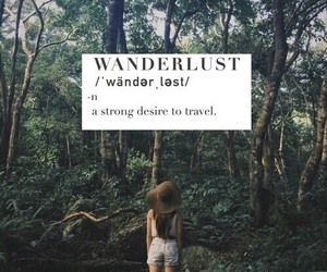 travel, wanderlust, and quote image