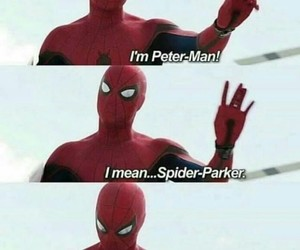 spiderman, funny, and Marvel image