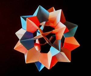video, david mitchell, and origami kusudama image