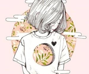art, anime, and pink image