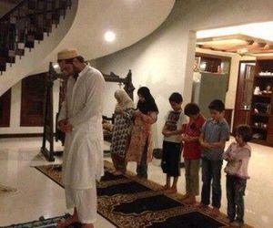 family, muslim, and islam image