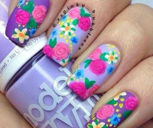 beauty, pink, and Fleurs image