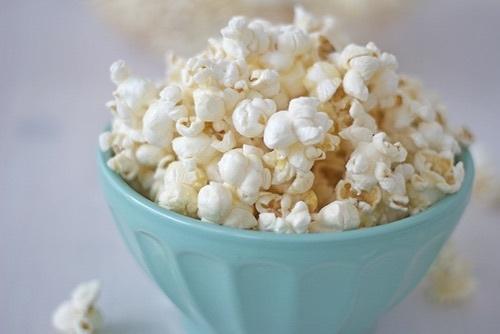 popcorn, food, and yummy image