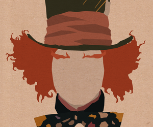 alice in wonderland, wonderland, and mad hatter image