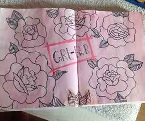 pink, rose, and grlpwr image
