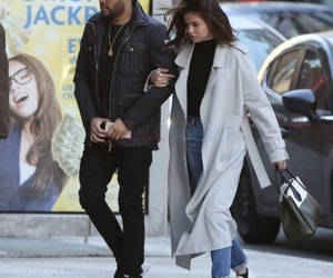 selena gomez, the weeknd, and abelena image