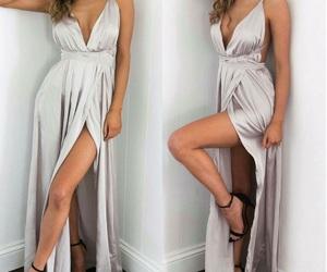 argento, sexy, and vestitino image