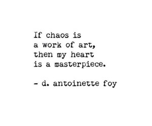 aesthetics, chaos, and poetry image