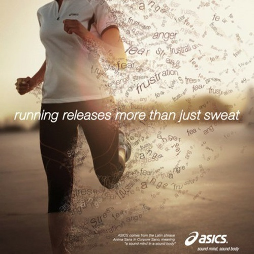 running, workout, and run image