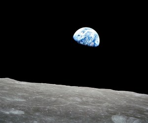 earth, moon, and article image
