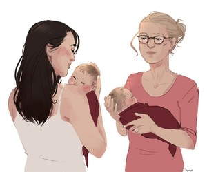 Supergirl and supercorp image