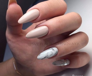 nails, manicure, and nailart image