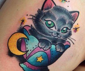 cat tattoo image