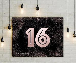 birthday girl, sweet sixteen, and 5x7 8x10 14x18 image