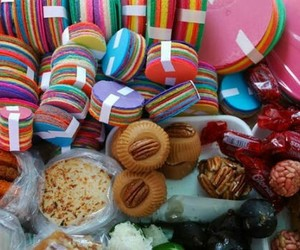 colorful, gastronomia, and dulces image