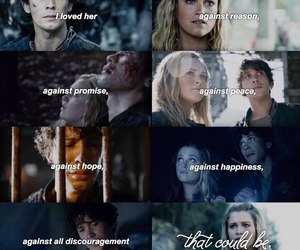 the hundred and bellarke image