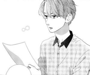 black and white, manga, and shishio-sensei image