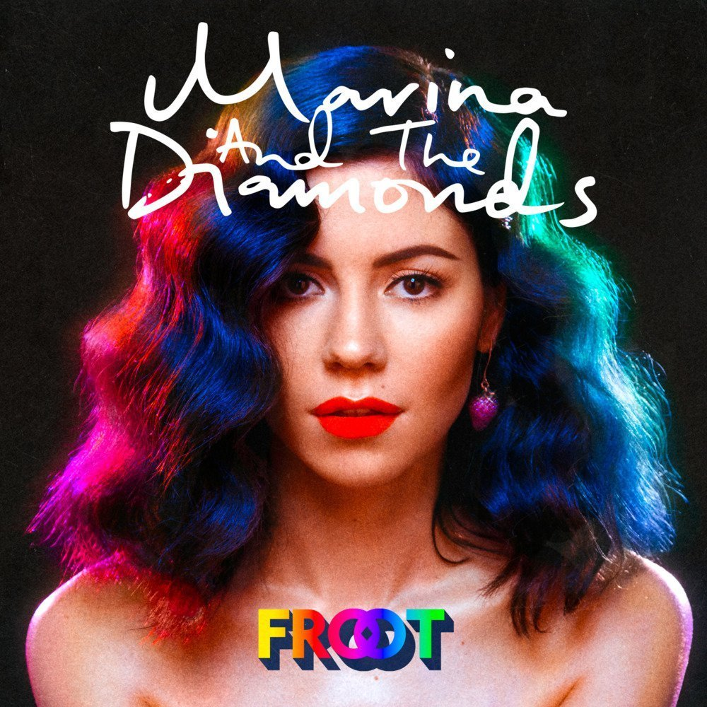 marina and the diamonds, froot, and music image