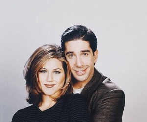 friends, Jennifer Aniston, and David Schwimmer image