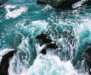 blue, ocean, and photo image