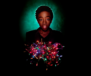 lights, serie, and stranger image
