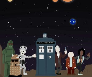 bbc, doctor who, and series image