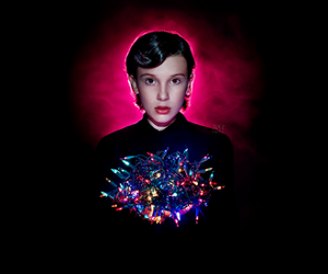 eleven, Halloween, and lights image