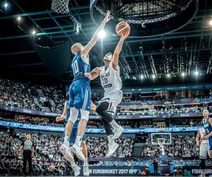 Basketball, Greece, and eurobasket 2017 image