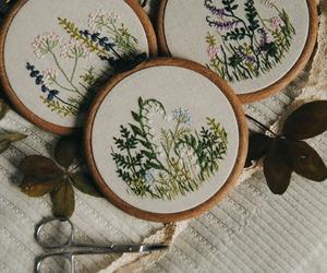 art, botanical, and craft image