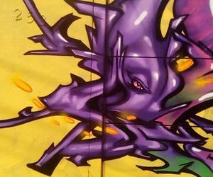 aerosol, art, and street art image