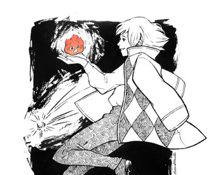 Howl and howls moving castle image