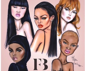 drawing, hayden williams, and rihanna image