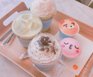 cute, pink, and food image