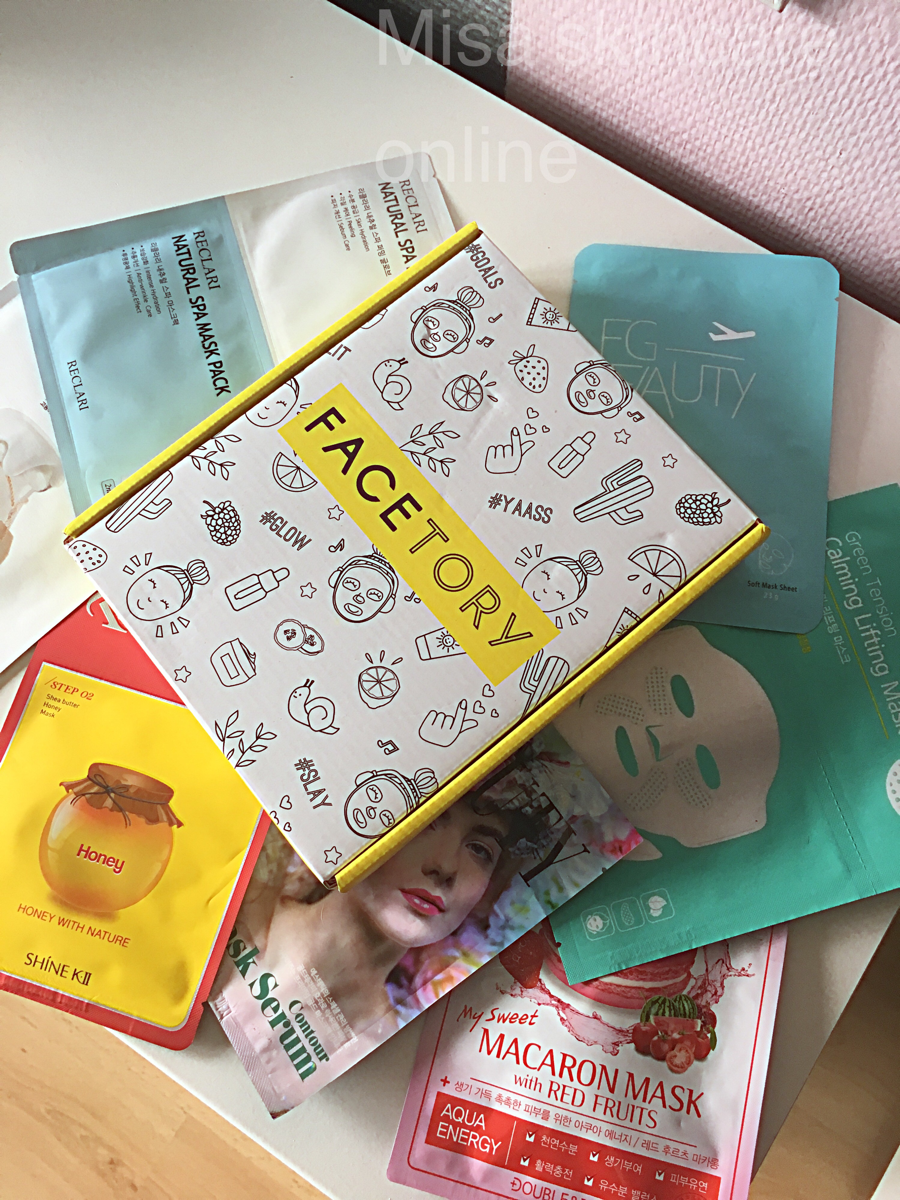 review, sheet masks, and skincare products image